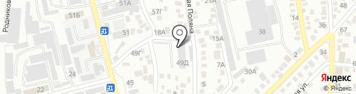 LEOPART CENTER, ТОО на карте Алматы