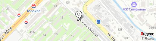 Мастерская по ремонту обуви Жалгаспеков В.А. на карте Алматы