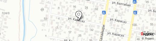 Айнур на карте Алматы