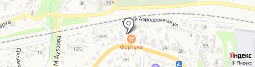 Orion на карте Боралдая