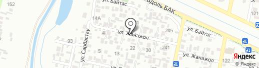 Нуржар на карте Алматы