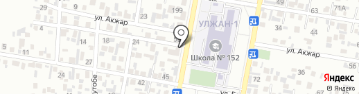 Арна на карте Алматы