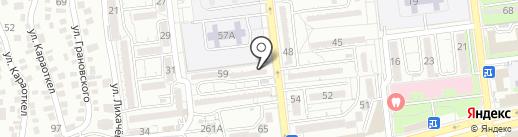 RetLock на карте Алматы