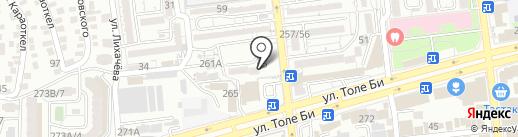 Массажный салон на карте Алматы