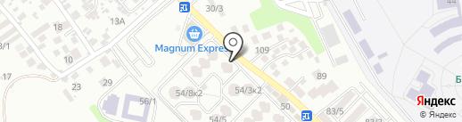 Mr.Шкаф на карте Алматы