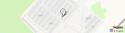 Михалыч на карте Излучинска