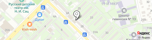 Пресс Трафик, ТОО на карте Алматы