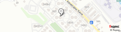 Даяна на карте Алматы