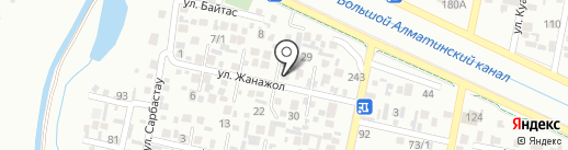 Коркем на карте Алматы