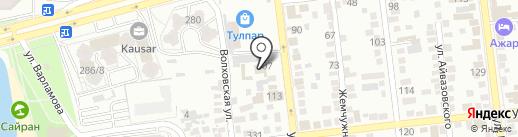 Экспо-Ники на карте Алматы