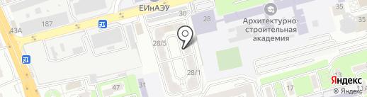 Эвелишка на карте Алматы
