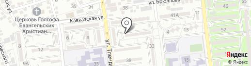 Удача на карте Алматы