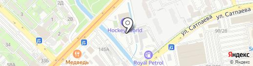 HOCKEY WORLD на карте Алматы