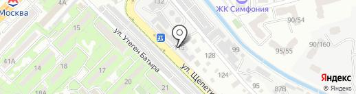 Шинный двор на карте Алматы