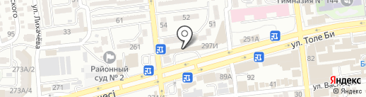 Конфетки-бараночки на карте Алматы