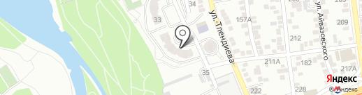 AGNER, ТОО на карте Алматы
