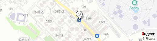 Абдыгани на карте Алматы