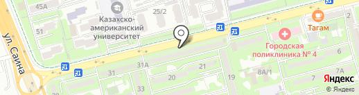 Мир Разливных Напитков, ТОО на карте Алматы