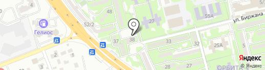 НУРКУН на карте Алматы