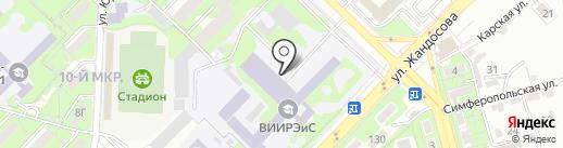 Военно-инженерный институт радиоэлектроники и связи на карте Алматы