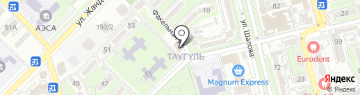 Непоседы на карте Алматы