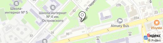 QazaqEvent на карте Алматы