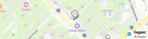 Айгерим на карте Алматы