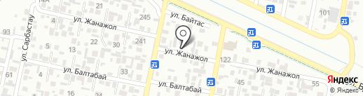 Шерхан на карте Алматы
