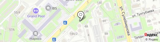 Bravo на карте Алматы