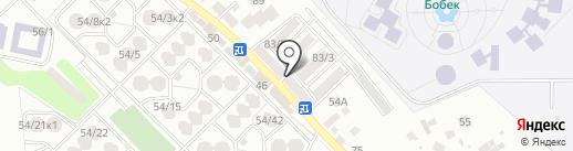 Нотариус Тусупжанова Р.Д. на карте Алматы