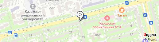 Компания по вскрытию замков сейфов и автомашин на карте Алматы