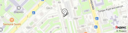 Ардак на карте Алматы
