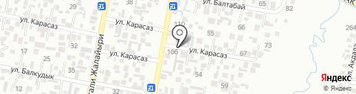 Толкын на карте Алматы