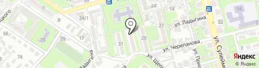 Global Drive на карте Алматы