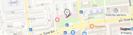 Детская городская поликлиника №34 на карте Алматы