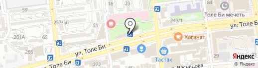 ROSSA-Ломбард, ТОО на карте Алматы