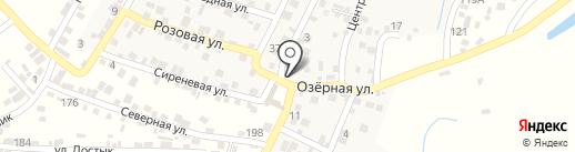 Дачник на карте Боралдая