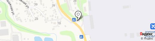 Барик на карте Боралдая
