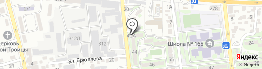 АС Дари, ТОО на карте Алматы