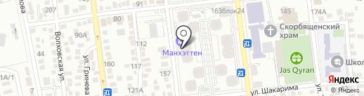 Участковый пункт полиции №21 Алмалинского района на карте Алматы