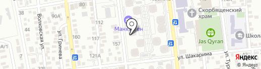 Sunny на карте Алматы