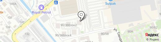 Аэлин на карте Алматы