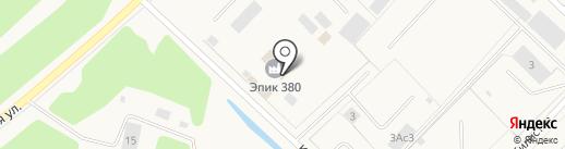 Эпик 380 на карте Излучинска