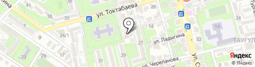 Мафия суши на карте Алматы