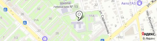 Алматинский казахско-турецкий лицей для девочек на карте Алматы