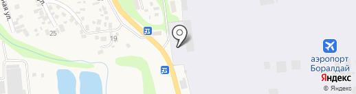 Sova на карте Боралдая