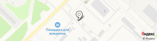 Гермес на карте Излучинска