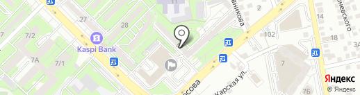 АФС Банкнота Ломбард, ТОО на карте Алматы
