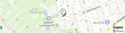 КАНКУ на карте Алматы