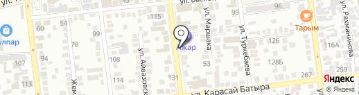 SANTEHMART на карте Алматы